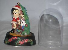 "Betty Boop - "" Jingle Bell Betty"" Glass Domed Sculpture"