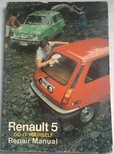 RENAULT 5 DO IT YOURSELF REPAIR MANUAL