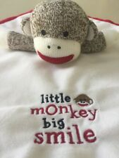 Baby Starters Sock Monkey Little Monkey Big Smile Replacement Lovey