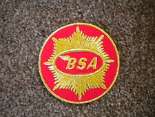 75mm Bsa Goldstar Moto Parche Bordado