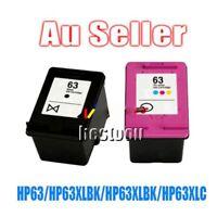 2 Ink for HP 63 XL for HP 63 Officejet 2620 for ENVY 4500 LD