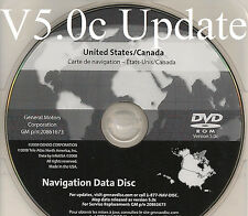 07 08 09 2010 GMC YUKON XL DENALI SPORT SUV NAVIGATION NAV GPS MAP DISC DVD 5.0c