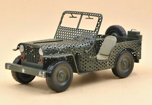 1940 Willys-overland Jeep 1:12 Scale Retro Classic Jeep Model Metal Crafts Sale