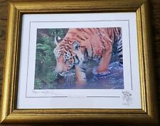 More details for tiger print by stephen gayford - forest stream