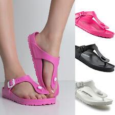 Women Birkenstock Gizeh EVA Flip Flops Pool Beach Sandals NEW