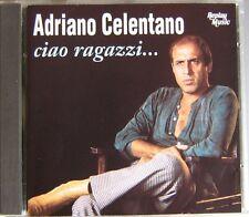 ADRIANO CELENTANO  (CD)  CIAO RAGAZZI