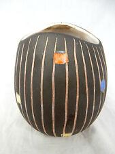 Schöne 50´s F.Düpmann design Steuler Keramik Vase Wandvase / wall pocket 4109/2