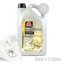 Car Engine Oil Service Kit / Pack 5 LITRES Millers NANODRIVE EE 10w-40 5L