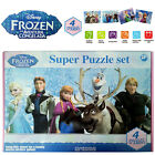*2015 BRAND NEW* FROZEN JIGSAW PUZZLES ELSA ANNA KRISTOFF OLAF SVEN 4 SETS TOY