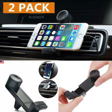 2 Pack Car Mount Air Vent Stand GPS Cell Phone Holder iPhone X 7 Plus 8