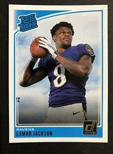 Lamar Jackson Rated Rookie Card Ravens Quarterback Free Shipping 🔥