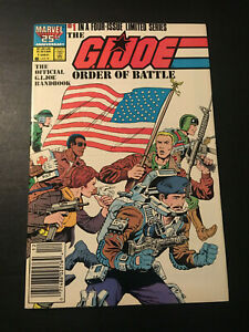 G.I. JOE ORDER OF BATTLE #1 LIMITED SERIES 1986 MARVEL FN/VF!!!