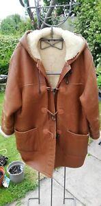 Poldon Somerset- Quality genuine sheepskin duffle coat. Fit up to 14/16/18?