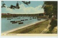 River Taw Barnstaple Devon Dearden & Wade 1877 Postcard, C023