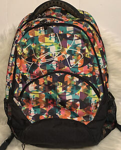 Under Armour Multicolored Logo Rainbow Multi pocket Sports Backpack