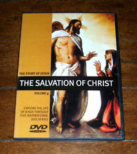 DVD: The Story of Jesus Volume 8: The Salvation of Christ 2006 Allegro Bible NEW