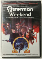 OSTERMAN WEEKEND (DVD, 2015) NEW Factory Sealed See Pictures! Rutger Hauer,
