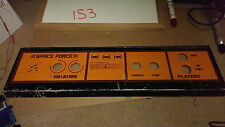 Control Panel for SPACE FORCE - 1985 Venture Line - no controls - SHIPS FREE!