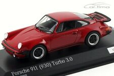 1:43 MINICHAMPS 1975 PORSCHE 911 (930) Turbo 3.0 red 100 pcs. cartima EXCLUSIVE