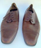 Joseph Abboud Men's Brown Lace up Oxford Dress Shoes Size 13 D