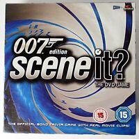 Scene It? 007 Edition (DVD Board Game, 2004 Screen Life) Complete - James Bond