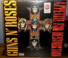 GUNS N ROSES APPETITE FOR DESTRUCTION TARGET RED RECORD WELCOME TO THE JUNGLE