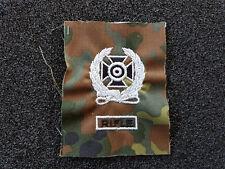 (a4-101) US schiessabzeichen pour BW Tarnfleck Expert Noir Blanc Rifle