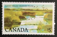 Canada. Point Pelee Stamp. SG885d. 1977. MNH. With Hawids. #AE143