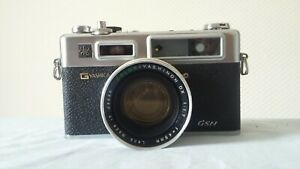 Yashica Electro 35 GSN 35mm SLR Camera With Color Yashinon DX 1:1.7 45mm Lens