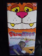 BNIB Shamzees Character Pillow Case - Pillow Eating Friends - Bally Tiger