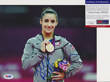 Aly Raisman Olympics Signed Autograph 8x10 Photo PSA/DNA COA #4