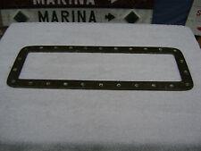 (#C) BRONZE BRASS TRIM RING PORTHOLE PORT LIGHT LITE BOAT SAILING SHIP SAILBOAT
