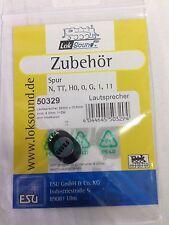 +++ ESU 50329 Lautsprecher 20mm x 13,5mm, oval, 8hm, 1~2W, ohne Schallkapsel