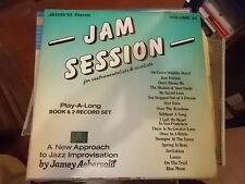 JAM SESSION FOR INSTRUMENTALIST VOCALIST JAMEY AEBERSOLD VOLUME 34 - 2LP