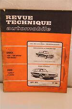REVISIONE TECNICA AUTOMOBILE 1975 FORD CAPRI II 4 cilindri N° 348