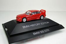 "Herpa 102056 BMW M3 GTR "" BMW History Edition "" -  rot  (PC)"