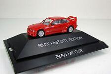 "Herpa 102056 BMW M3 GTR "" BMW History Edition "" -  rot  (PC)"