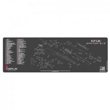 SPRINGFIELD M1A SCHEMATIC RIFLE PROMAT - CHARCOAL