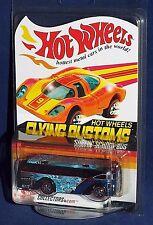 Hot Wheels Red Line Club Flying Customs Surfin' School Bus Blue #02069 / 12500