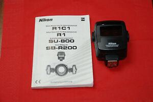 Nikon IR-Fernsteuerungseinheit SU-800 wireless Speedlight Commander m. Anleitung