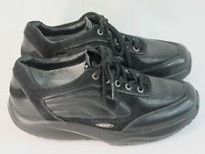 MBT Maliza Black Leather Toning Fitness Shoes Size 9 M US Near Mint Condition