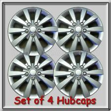 """4 16"""" Silver Nissan Sentra hubcaps Fits 2016-2017, Sentra Wheel Covers"""