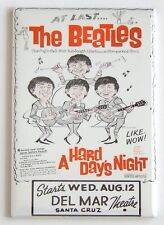 A Hard Day's Night FRIDGE MAGNET (2 x 3 inches) movie poster flier beatles