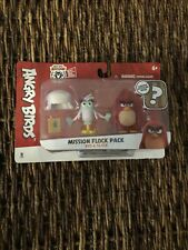 Angry Birds Mission Flock Set Red And Silver Birds Surprise Hatchling Inside NIP