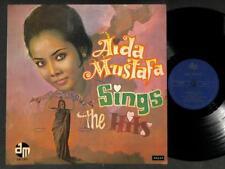 """Rare Indonesia Malay Aida Mustafa & Band The Four X Aida Label 12"""" MLP546"""