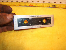 Mercedes E W108,W109 Dash Air Conditioner THERMO KING Center Panel 1 Cover,Ty #1
