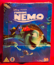 Disney Finding Nemo 3D Blu-ray Steelbook  with Lenticular Magnet NEW