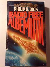 PHILIP K DICK RADIO FREE ALBEMUTH 1987 1st Ed. Very Good+