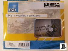 ESU 56498 New 2018 LokSound V4.0 PluX16 DCC Sound Decoder With Speaker ~ Factory