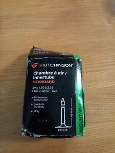 "NEW - HUTCHINSON STANDARD 29 MTB INNER TUBE 29"" x 1.90/2.35"" PRESTA VALVE 48mm"